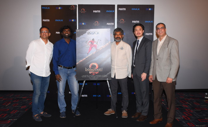 unveiling of Bahubali 2 Poster