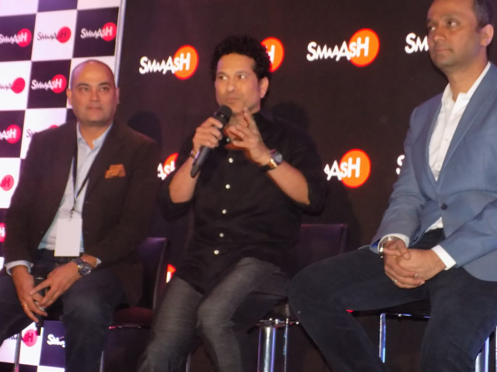 Sachin Tendulkar launches SMAAASH
