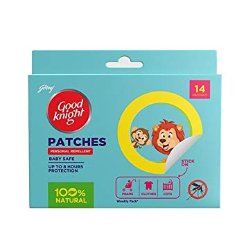 Goodknight patches: Baby Safe Natural Repellent