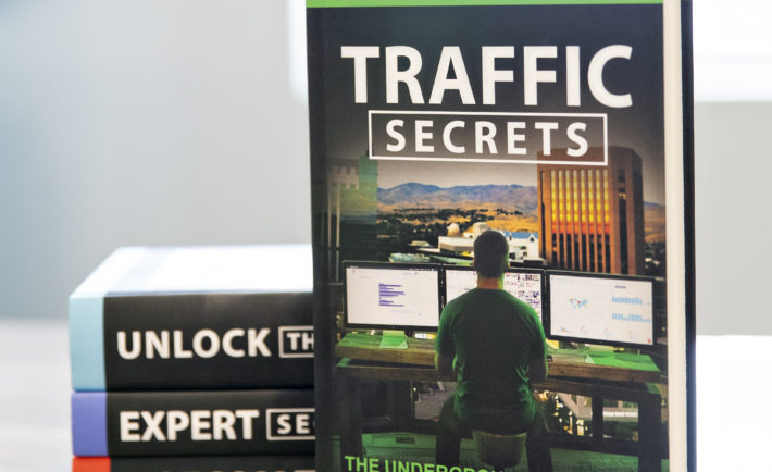 Russell Brunson's Traffic Secrets book